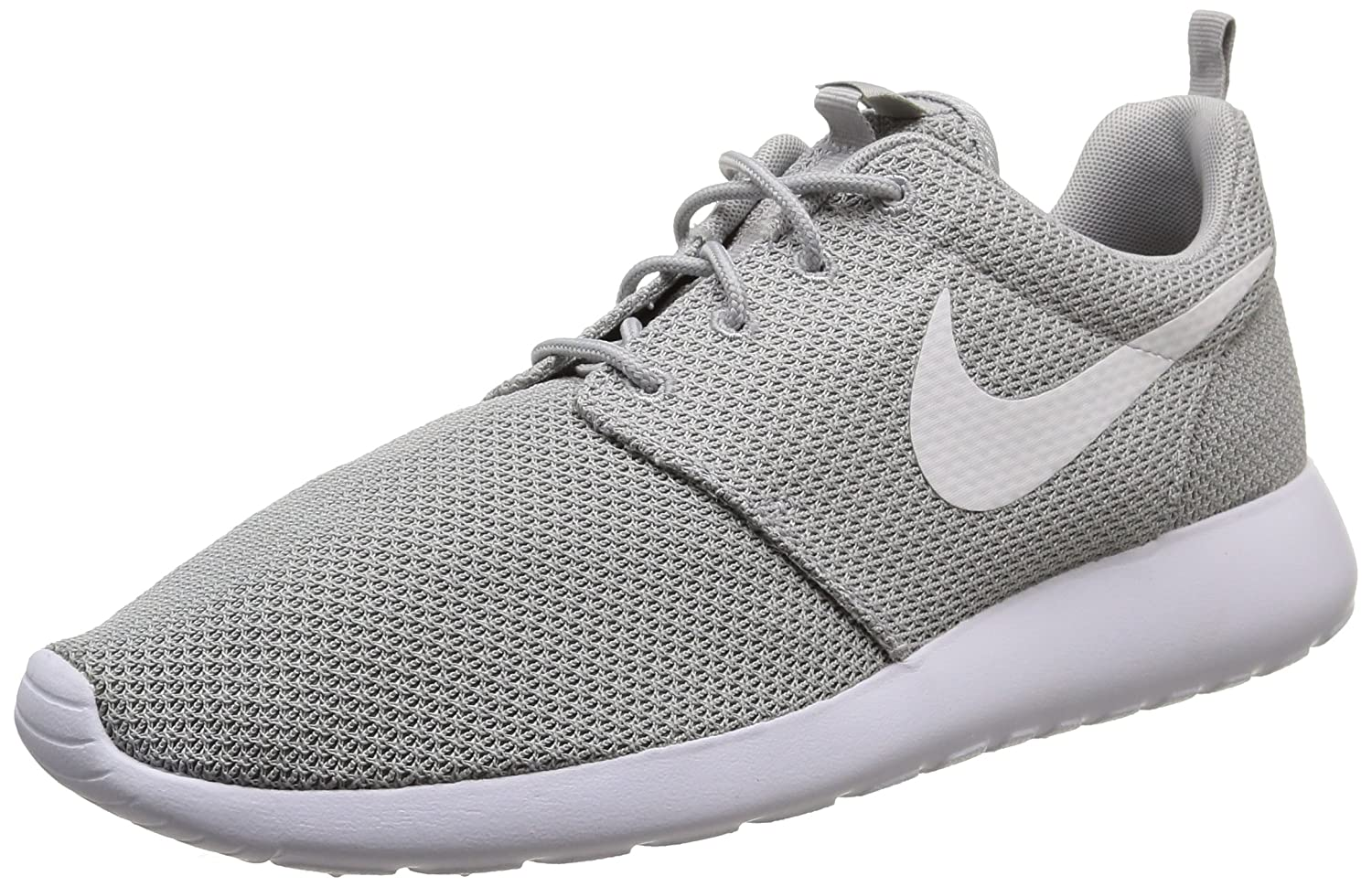 602bb681b57 Nike Mens Roshe One Wolf Grey White Sneaker