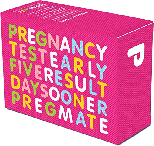 PREGMATE 50 Pregnancy Test Strips (50 Count)