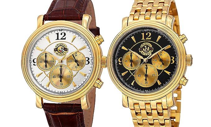 Disney Versailles Hombres del cronógrafo reloj de coleccionistas edición