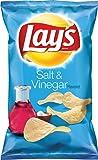 Lay's Salt & Vinegar Flavored Potato Chips, 7.75 Ounce