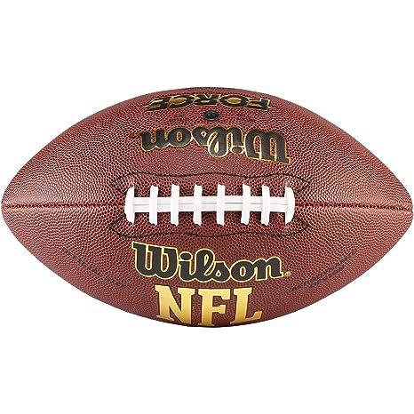 nfl pallone  Wilson NFL Force Pallone da Football Americano, Marrone, Taglia ...