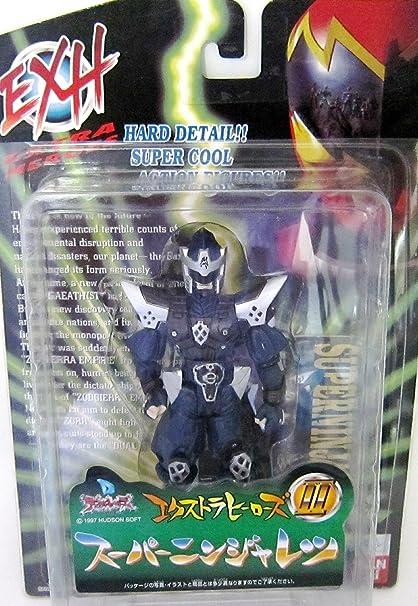 Amazon.com: Dual Heroes extra Heroes II Super Ninja Columna ...