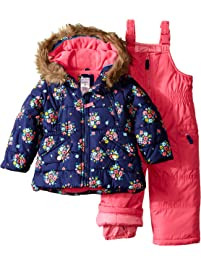 3e7f6b05e Carter's Girls' Snowsuit with Printed Anorak