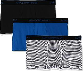 TALLA XL. Emporio Armani Underwear Braguita (Pack de 3) para Hombre