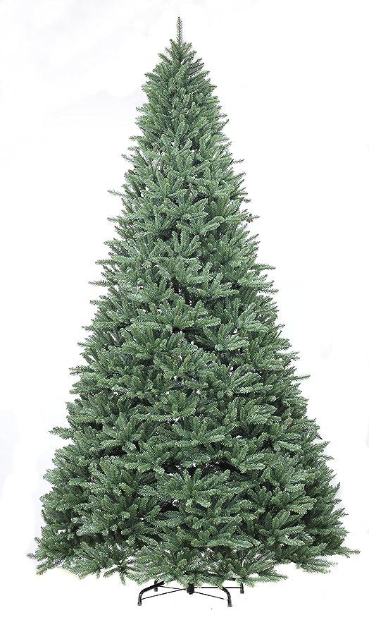 Image Unavailable - Amazon.com: Puleo International 9ft Slim Glenbrook Fir Blue Tree