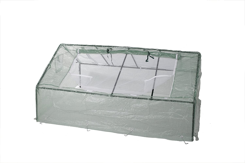 Gartenfreude 120 x 60 x 60 cm Green House Sheet Metal Frame 4700-1007