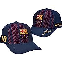 Barça cap, design Lionel Messi, officiële collectie van FC Barcelona