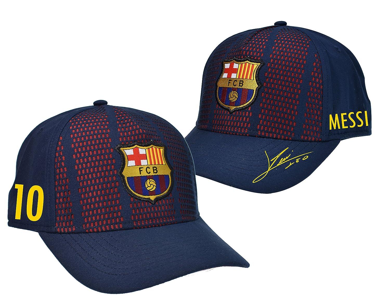 Kindergr/ö/ße f/ür Jungen. offizielle Kollektion FC Barcelona M/ütze Lionel Messi