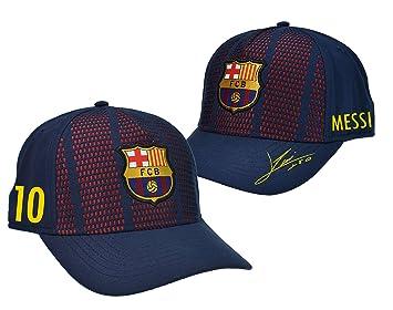 Fc Barcelone Casquette Enfant Barça - Lionel Messi - Collection Officielle 017ad9dfcd4