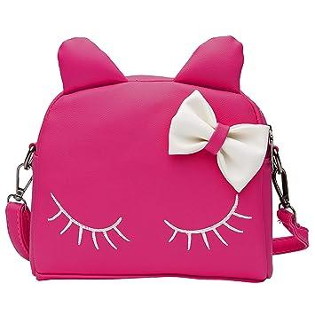 Amazon.com: Wraifa Monedero para niñas pequeñas, mochila ...