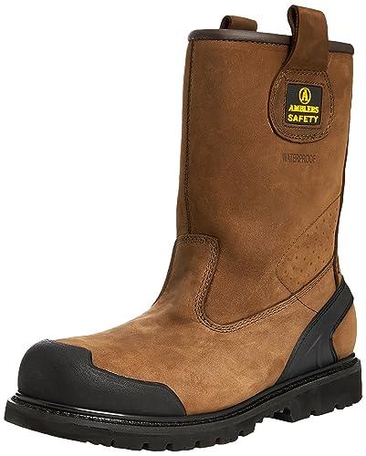 Amblers Steel , Chaussures de sécurité pour homme - Marron - marron, 39.5
