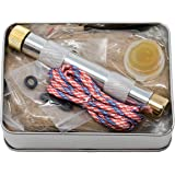 American Heritage Industries Fire Piston Kit- Firestarter Kit with Char Cloth, Cord, and Tinder, Survivalist and Prepper…