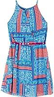 Amy Byer Big Girls Floral Chiffon Halter Dress