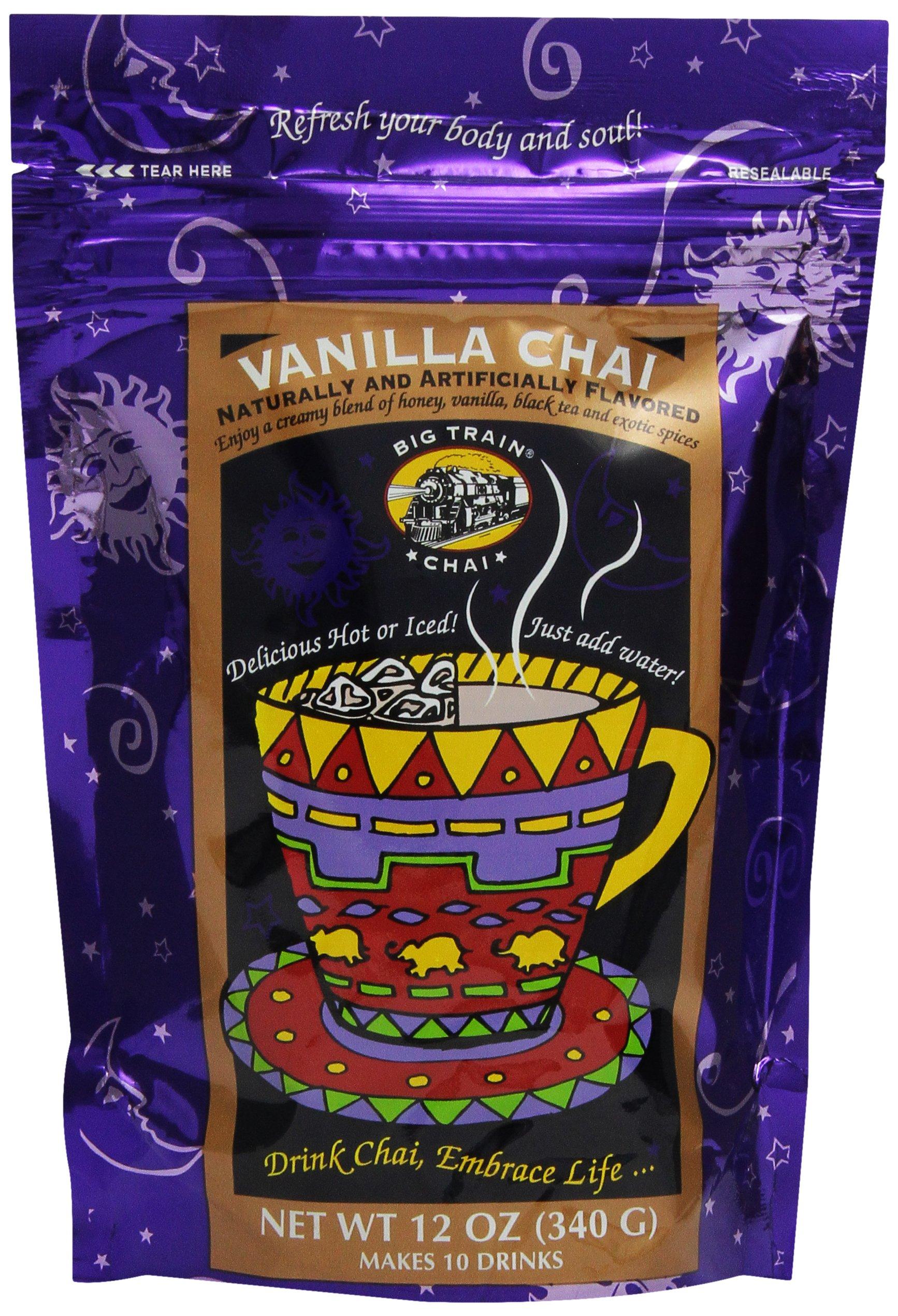 Big Train Vanilla Chai, 12-Ounce Bags (Pack of 3) by Big Train