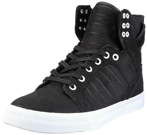 S18100Sneaker Suede Skytop Supra Wax UomoNeroschwarzblack WDE2HI9