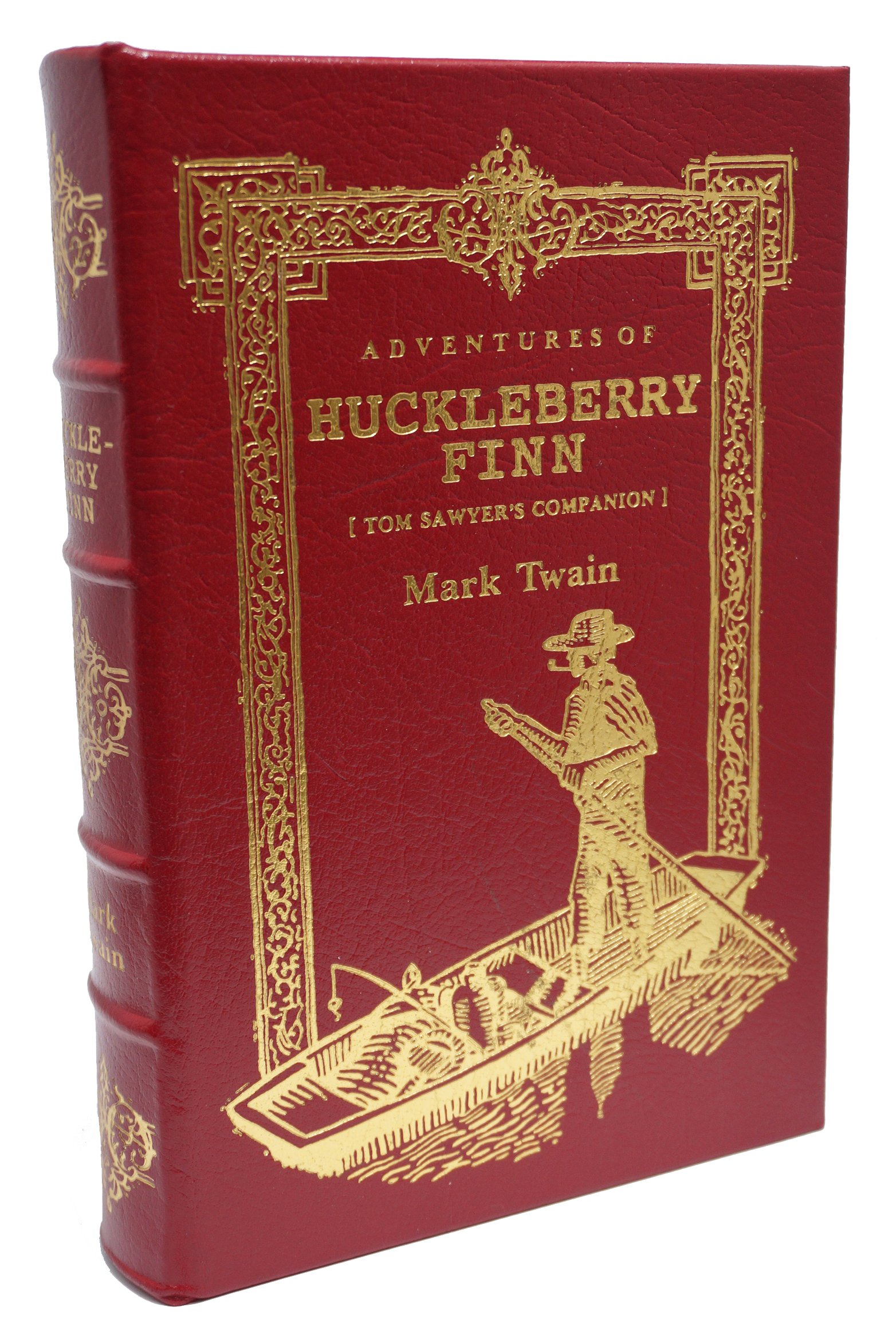 ADVENTURES OF HUCKLEBERRY FINN. Tom Sawyer's Companion. A Volume in The 100 (One Hundred) Greatest Books Ever Written., Twain, Mark