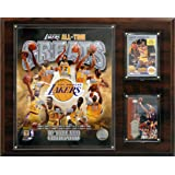 NBA Los Angeles Lakers All-Time Great Photo Plaque