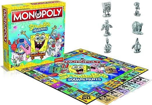ZigZag Island Spongebob Squarepants Board Game Monopoly *English Version* Album: Amazon.es: Juguetes y juegos