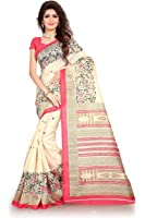 TRUNDZ MULTI COLOR COTTON SAREE