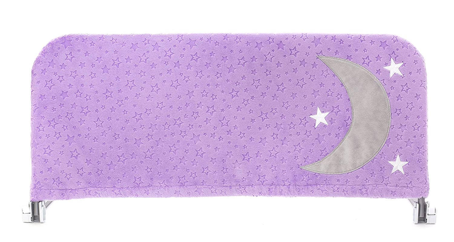 with Inside Pocket for Toys and Books Lavender Sunset, Small Enhances The Look of Portable Child Safety Side Rails Cosie Covers l Bedrail Cover for Toddlers and Kids Guardrails