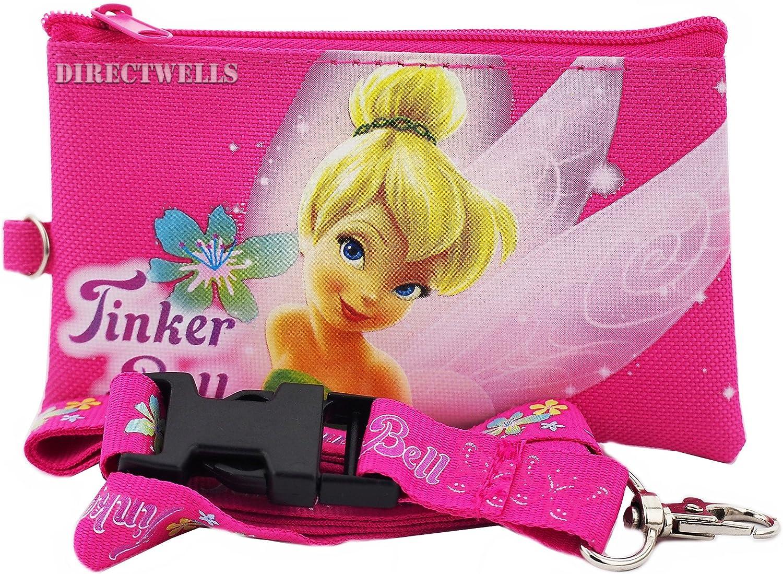 Authentic Disney Tinker Bell Breakaway Lanyard New