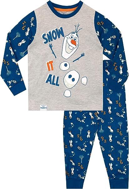 Disney Frozen Juego de pijama largo para ni/ñas