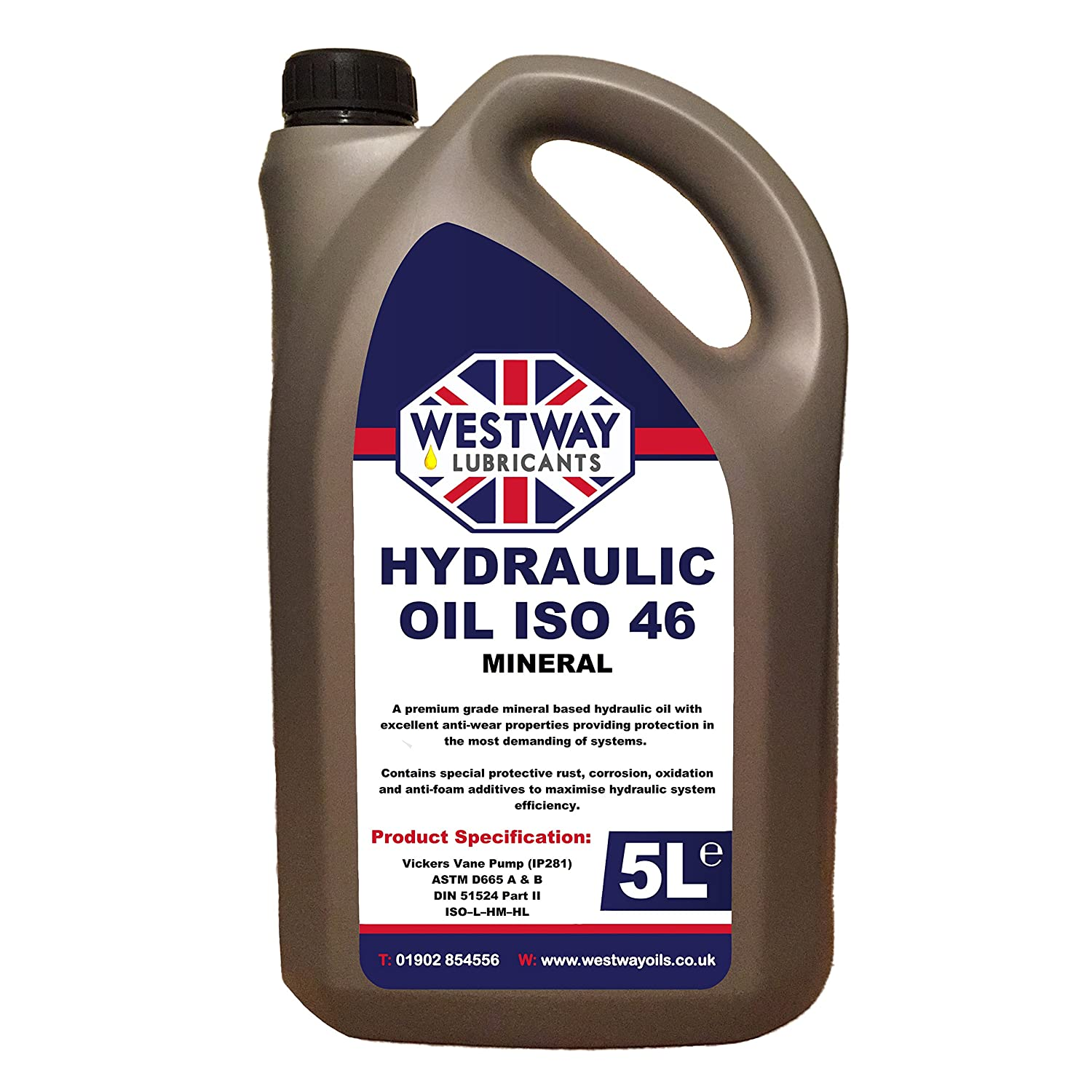 Hydraulic Oil ISO 46 5 Litres 5L
