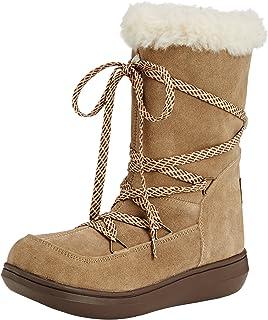 Chestnut 8 UK Rocket Dog Womens Snow Boot Sofie Brown
