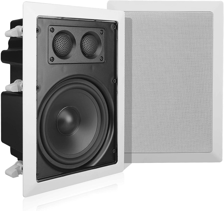 "NEW In Wall Ceiling Home Speakers 5.25/"" Surround Sound 2 Way Peak 400 Watt 20"