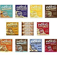 Nakd Fruit & Nut Bars Mixed Case (44 Bars 11 Flavours)