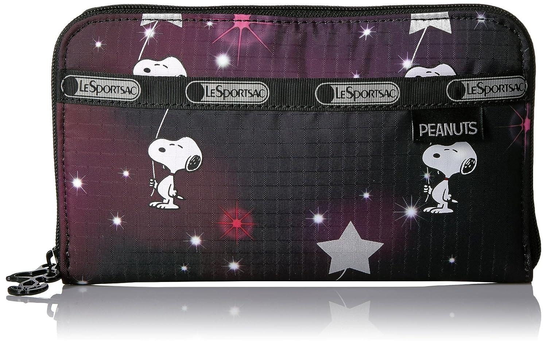 [レスポートサック] LeSportsac 長札(ラウンドファスナー) (LILY)【並行輸入品】 B01JPZS70K Snoopy in the Stars Snoopy in the Stars