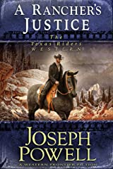 A Rancher's Justice (The Texas Riders Western) (A Western Frontier Fiction) Kindle Edition