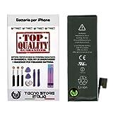 foto                       TSI® Batteria di Ricambio per iPhone 5, Capacità 1440 mAh apn 616-0610/11/13, + Tool Kit Smontaggio, Biadesivo e Istruzioni