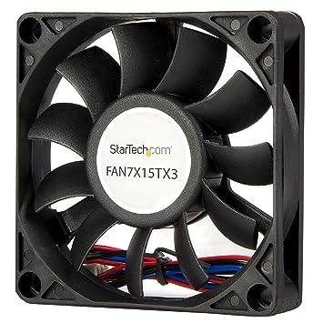 Startech.com FAN7X15TX3 - Ventilador para caja de ordenador (70 x 15 mm)