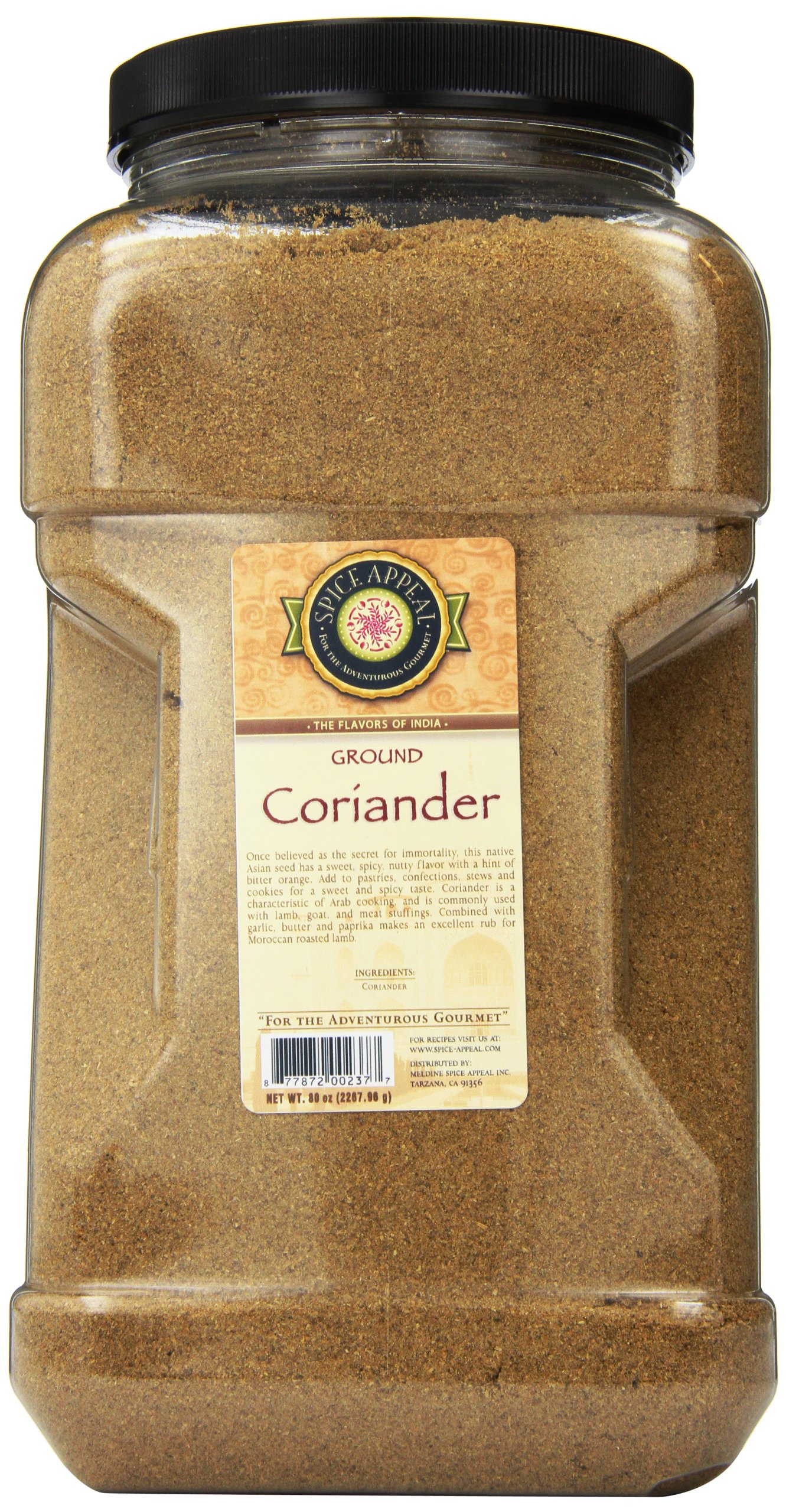 Spice Appeal Coriander Ground, 5 lbs