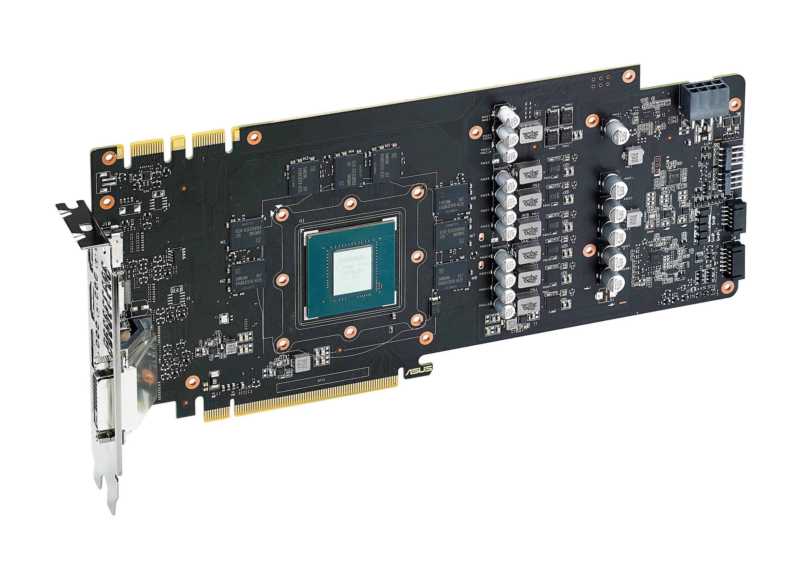 ASUS GeForce GTX 1070 8GB ROG STRIX OC Edition Graphic Card STRIX-GTX1070-O8G-GAMING by Asus (Image #6)