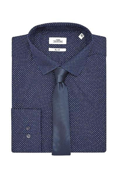 l'ultimo 13e7e e5013 next Uomo Set Camicia E Cravatta con Stampa - Slim: Amazon ...