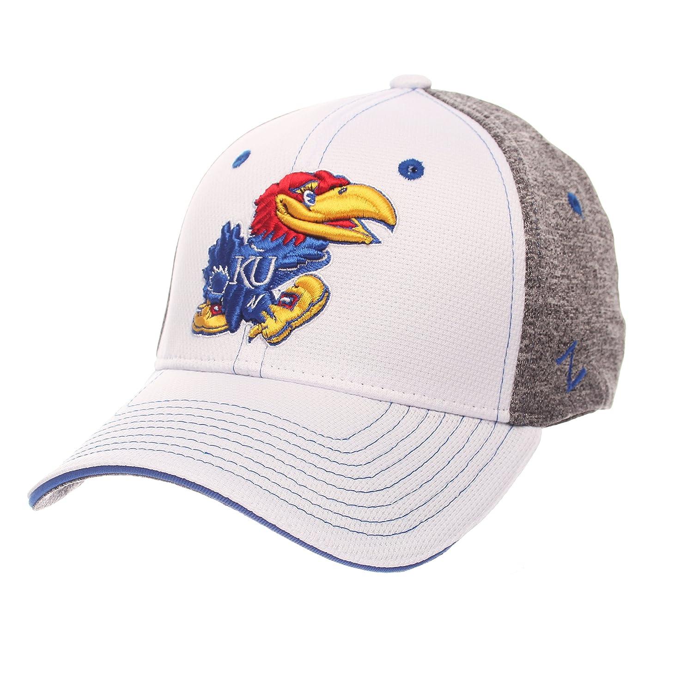 White//Heather Gray Zephyr Adult Men Equinox Hat Medium//Large