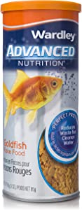 SuperClean Wardley Advanced Nutrition Perfect Protein Goldfish Food Flakes