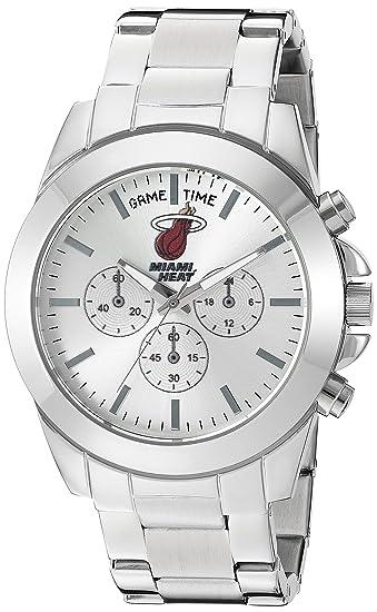 Tiempo de juego de Las Mujeres knock-out de cuarzo acero inoxidable reloj automático