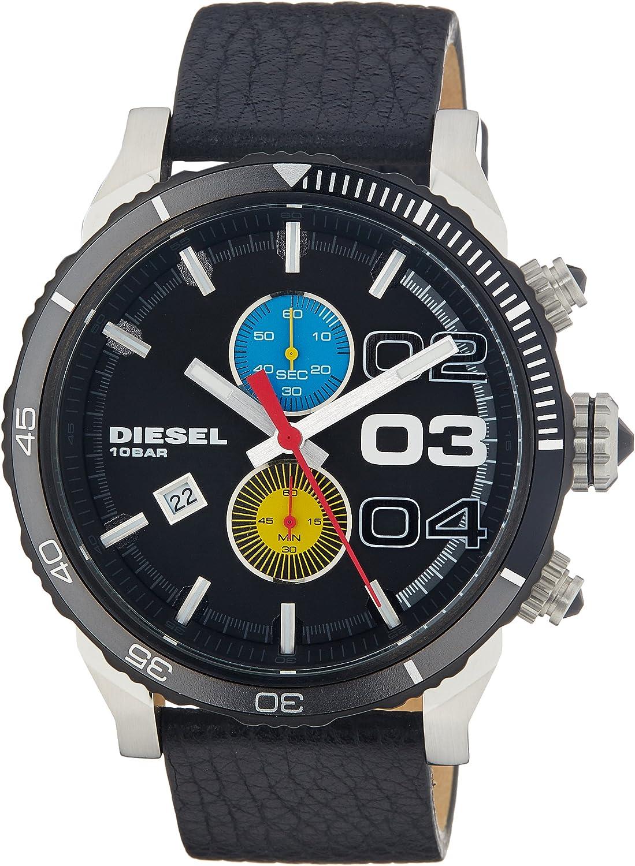 Diesel Men s Double Down 2.0 Black 3 Watch