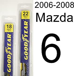 "product image for Mazda 6 (2006-2008) Wiper Blade Kit - Set Includes 22"" (Driver Side), 18"" (Passenger Side) (2 Blades Total)"