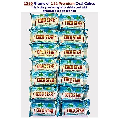 1260grammes 112Premium Cubes de charbon de charbon de narguilé/shisha/charbon Cubes * * Nouveau * * Meilleur Prix sur Amazon.