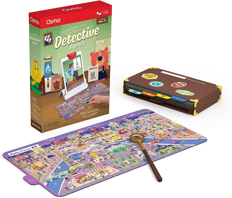 Osmo Game Detective Agency: un Juego búsqueda Que explora el Mundo. (Base requerida), Color (902-00011): Amazon.es: Juguetes y juegos