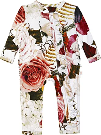 Soft Viscose from Bamboo Posh Peanut Baby Rompers Pajamas Newborn Sleepers Girl Clothes Kids One Piece PJ