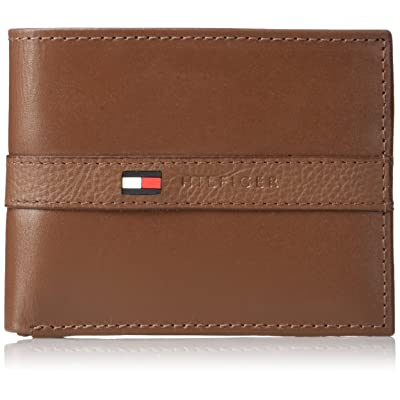 Tommy hilfiger men's thin sleek casual bifold wallet