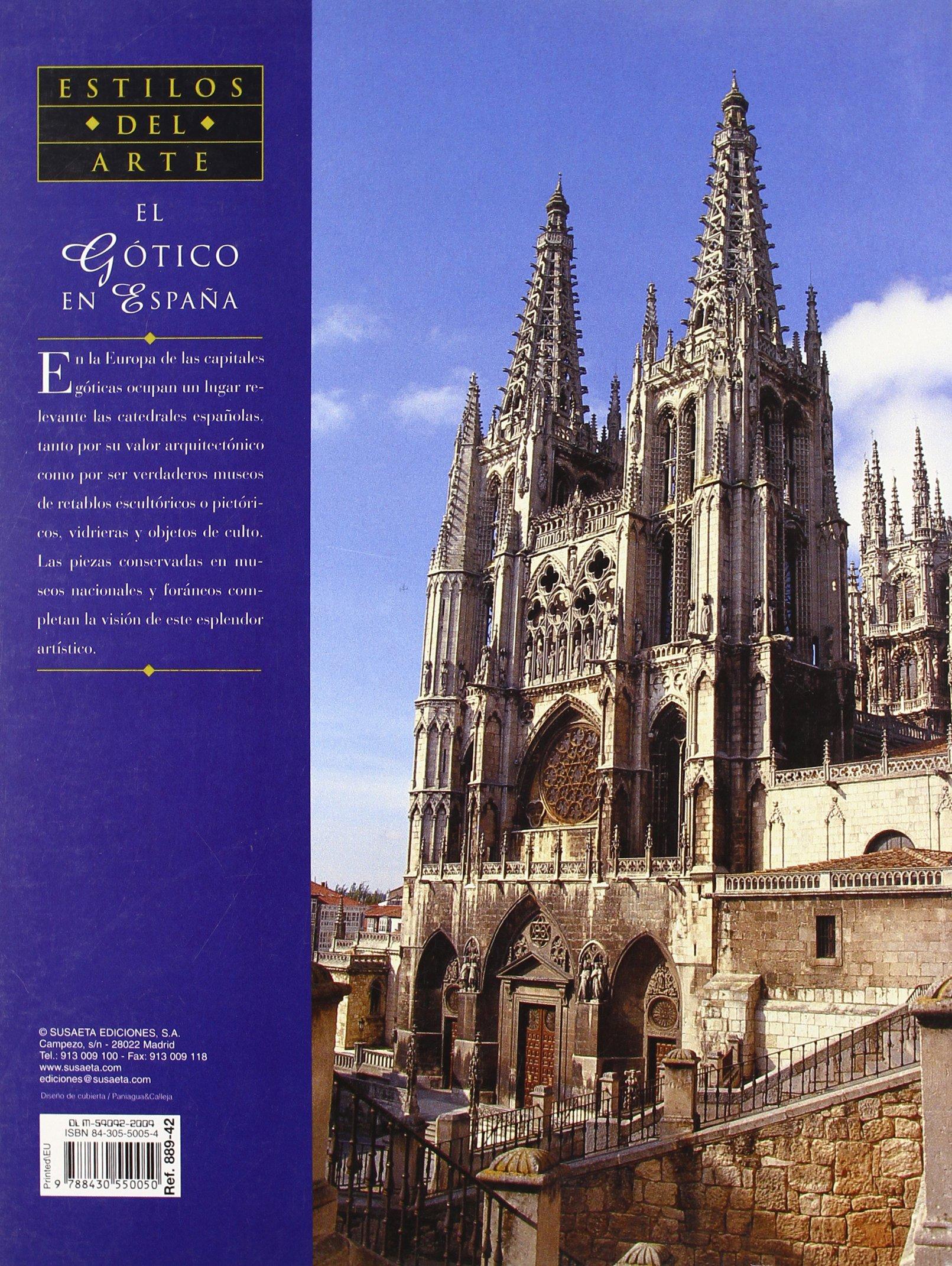Gotico En España, El (Genios Del Arte): Amazon.es: Vidal Franquet, Jacobo, Susaeta, Equipo: Libros