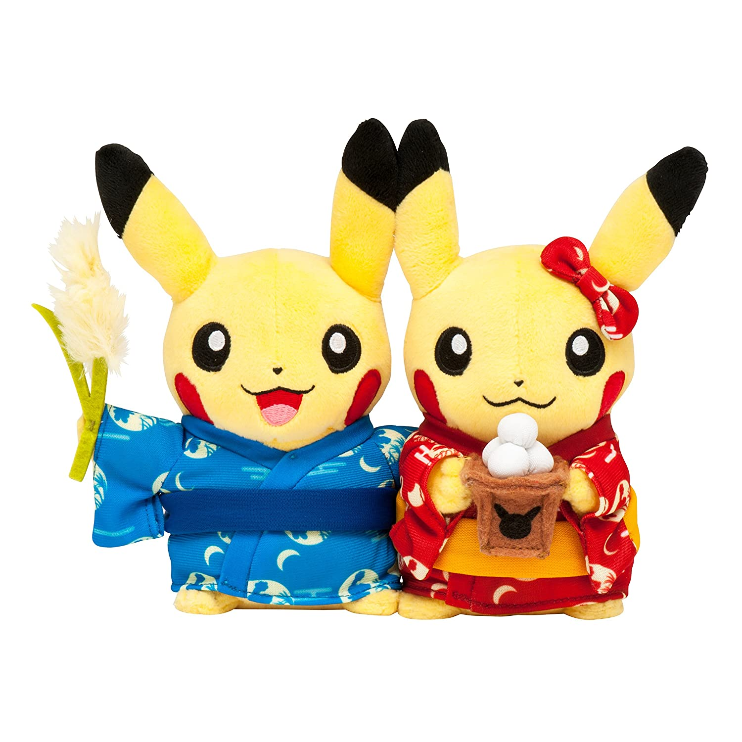 venta de ofertas Pokemon Pokemon Pokemon Center Original stuffed Monthly pair Pikachu 2016 September by Pokemon Center  ofreciendo 100%