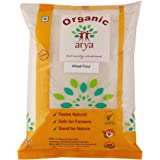 Arya Farm Organic Atta (Wheat Flour), 2 Kgs, (Savings on Shipping)