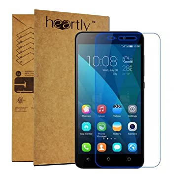 Heartly Tempered Glass Protective 2.5D 0.3mm Pro 9H Hardness Toughened Screen Protector for Huawei Honor 4X